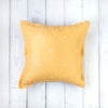 Oh Mabel Yellow Vintage Inspired Linen Cushion