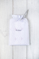 Oh Mabel Blush Printed Organic Cotton Pillowcases Packaging