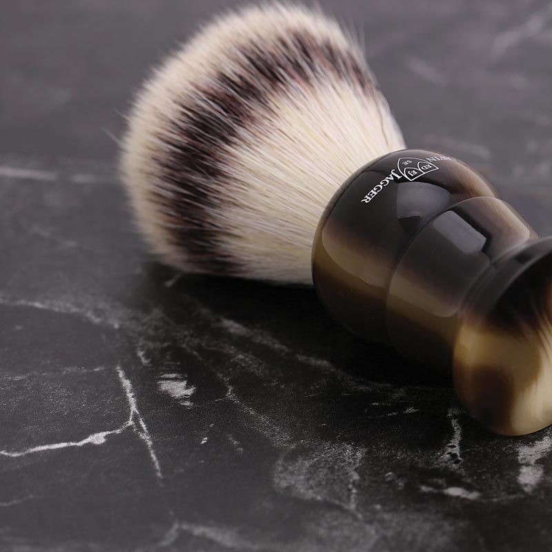 An Edwin Jagger Silvertip Synthetic Shaving Brush