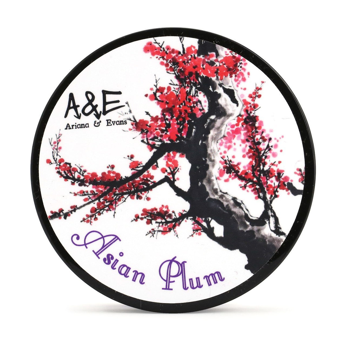 Ariana & Evans Shaving Soap - Asian Plum