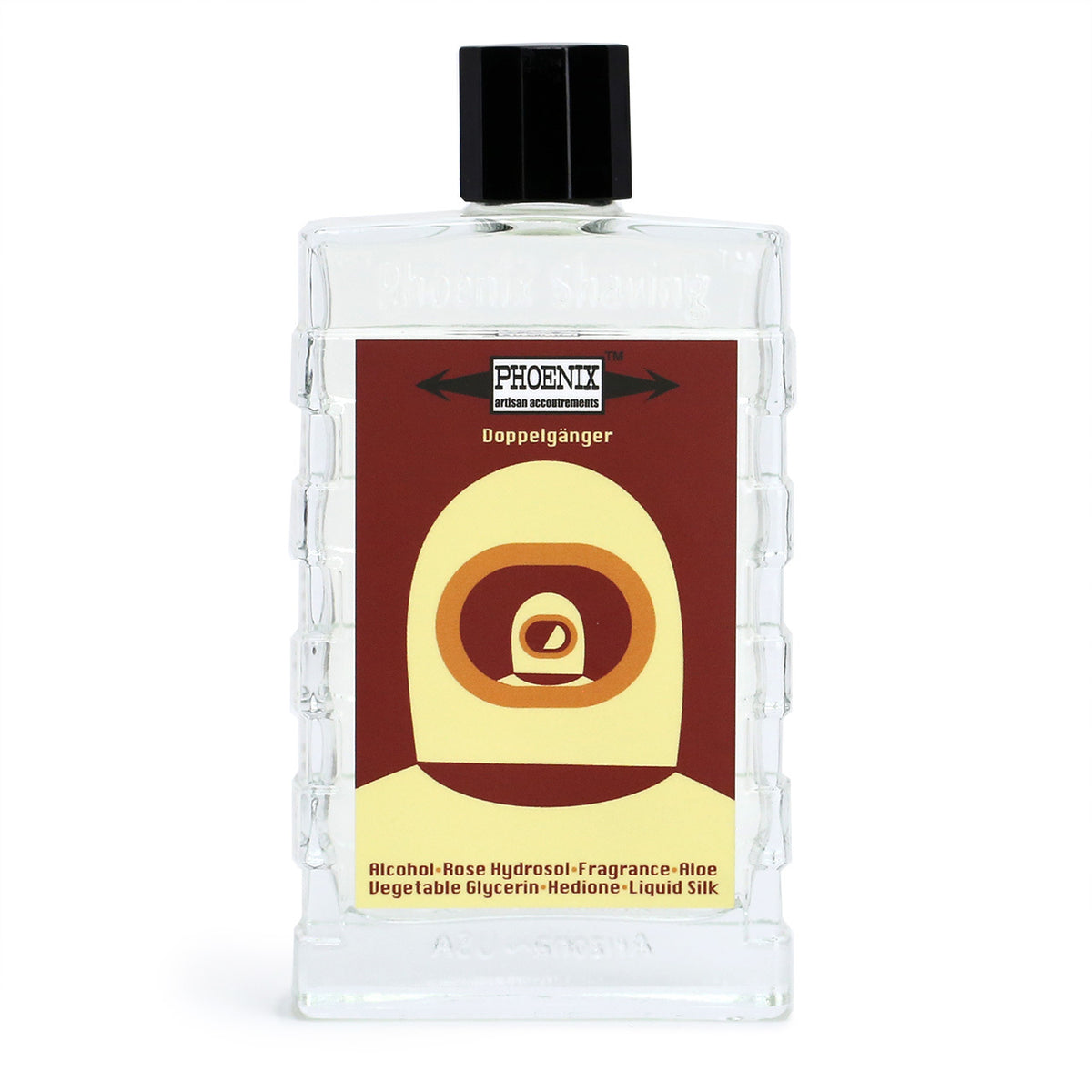 Phoenix Shaving Doppelgänger Ox Blood After Shave & Cologne - Homage to Sartorial