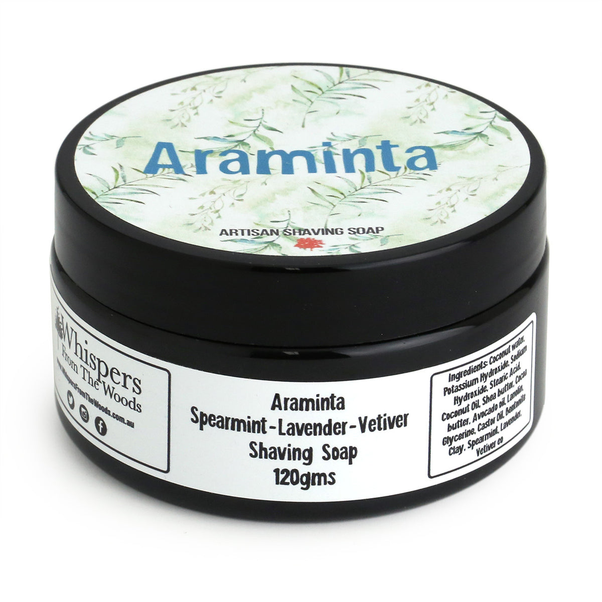 Whispers from the Woods Shaving Soap - Araminta