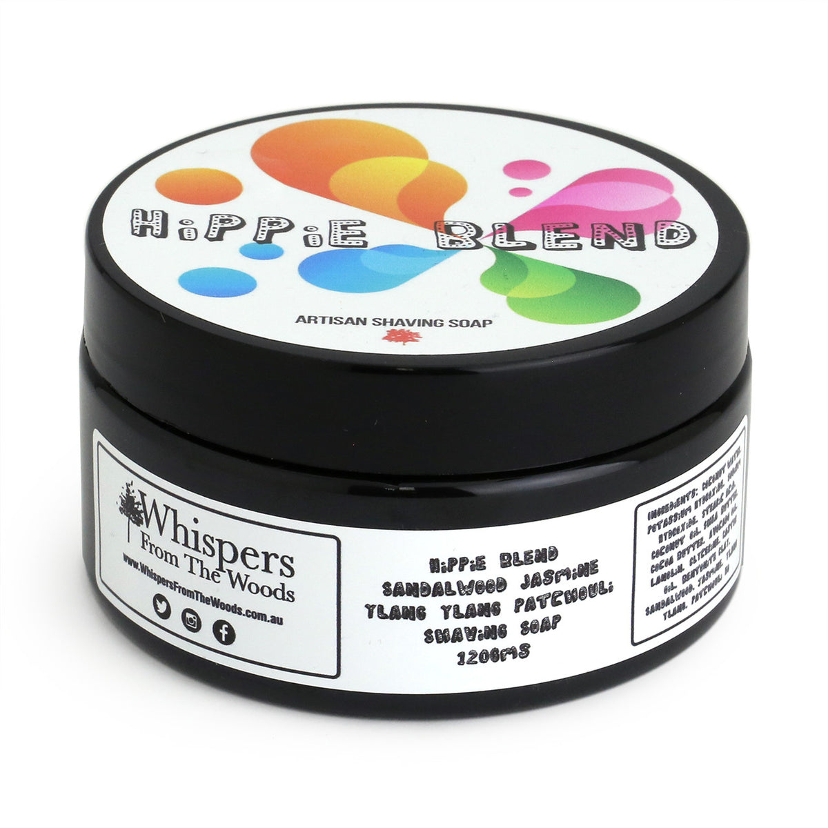 Whispers from the Woods Shaving Soap - Hippie Blend