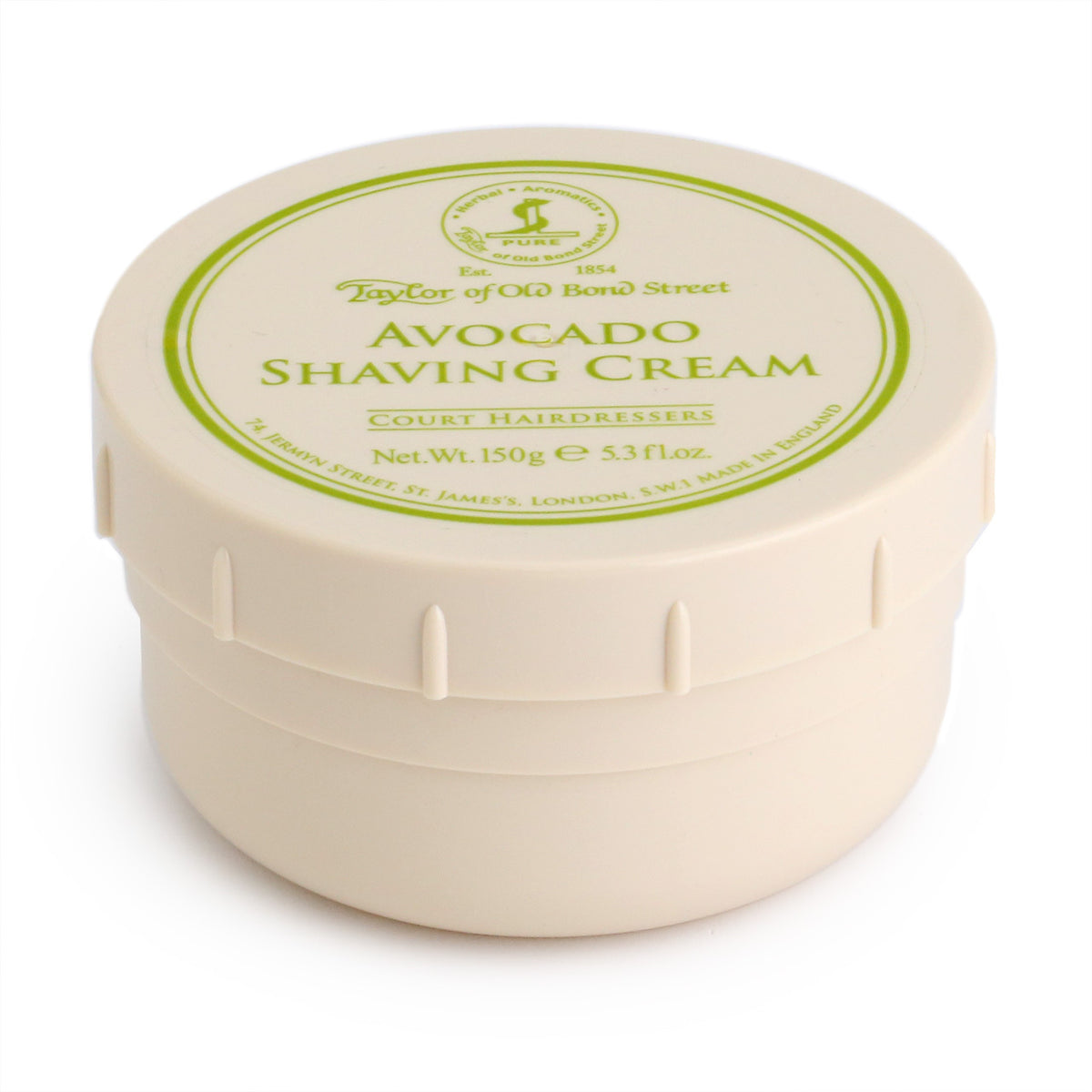 Taylor of Old Bond Street Shaving Cream Bowl 150g - Avocado