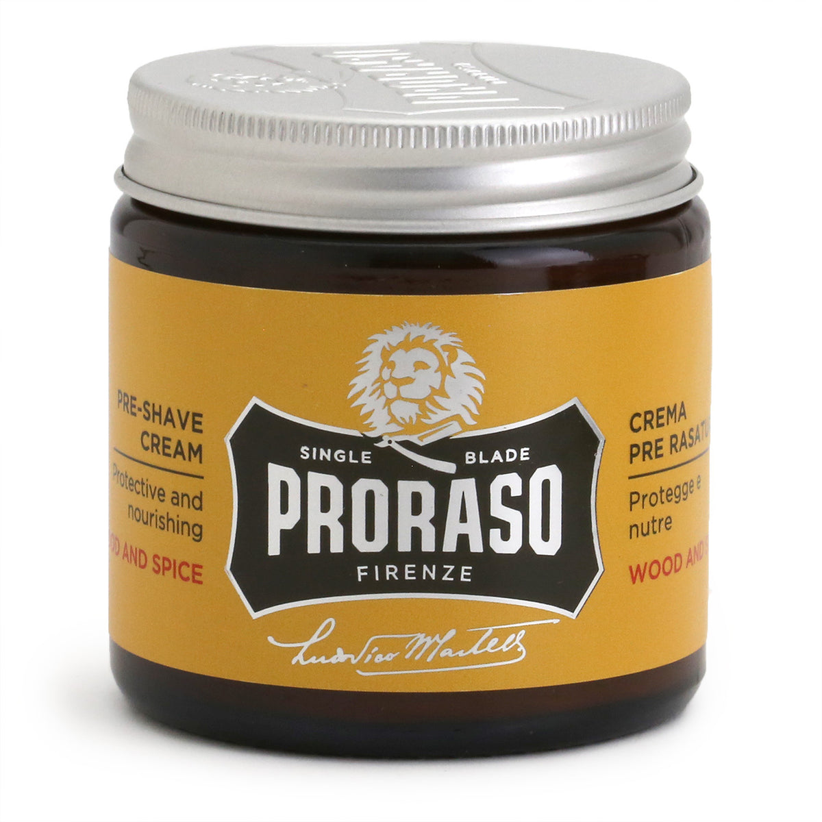 Proraso Pre-Shave Cream 100ml - Wood & Spice