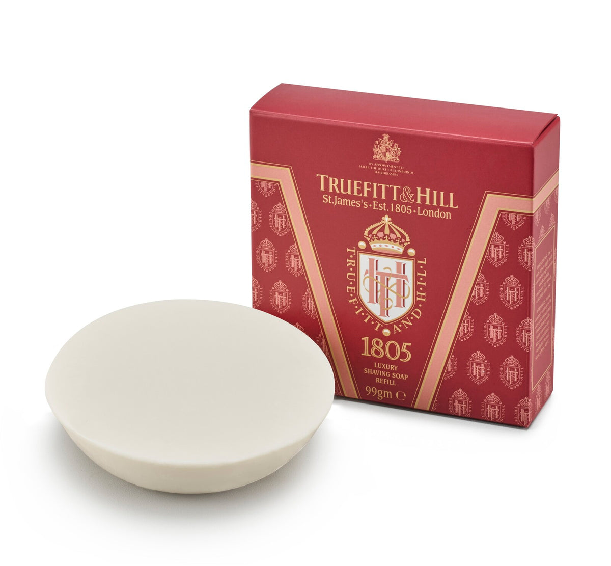 Truefitt & Hill Luxury Shave Soap Refill 99g - 1805