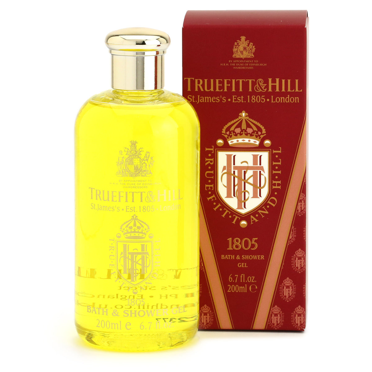 Truefitt & Hill Bath and Shower Gel 200ml - 1805