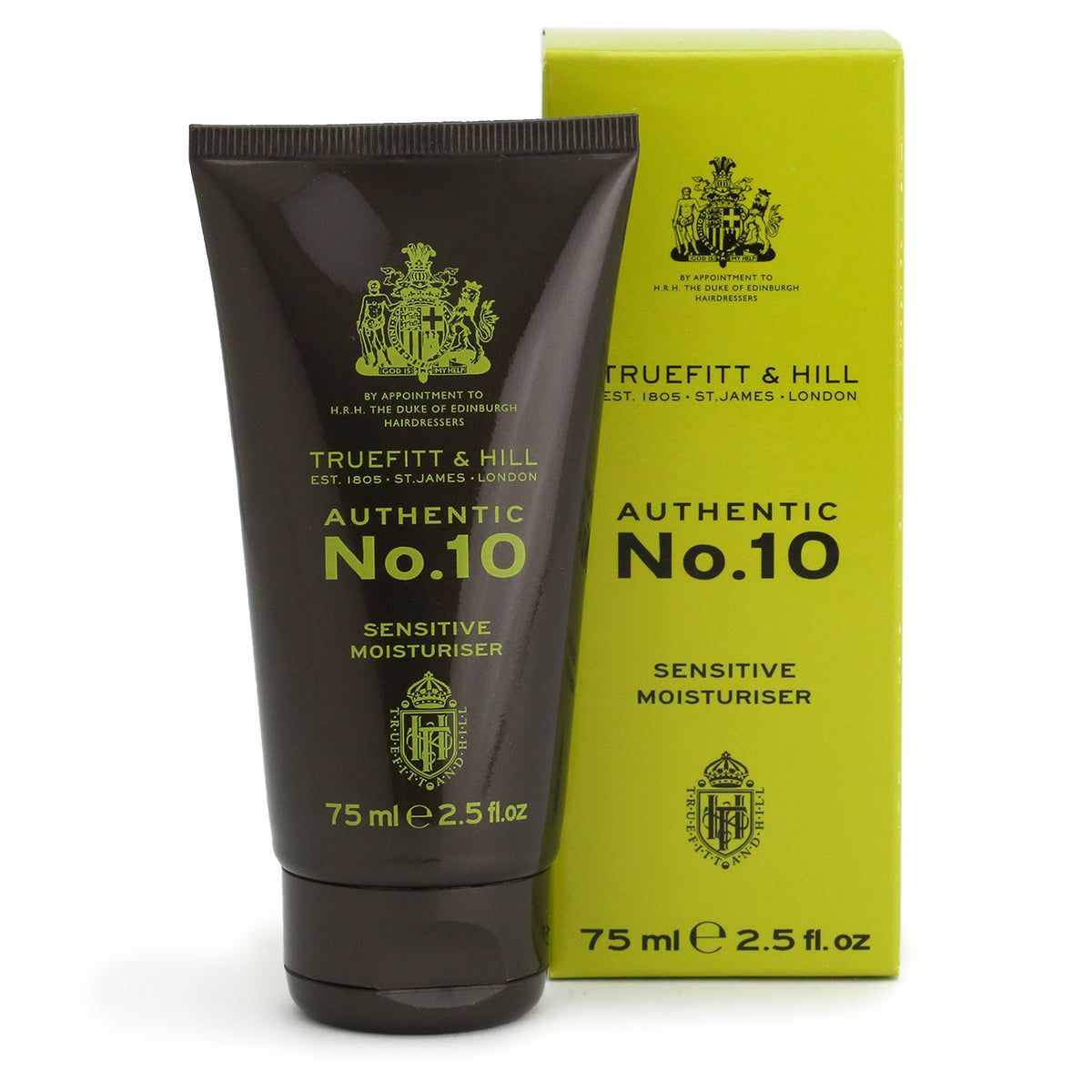 Truefitt & Hill Authentic No.10 Sensitive Moisturiser 75ml