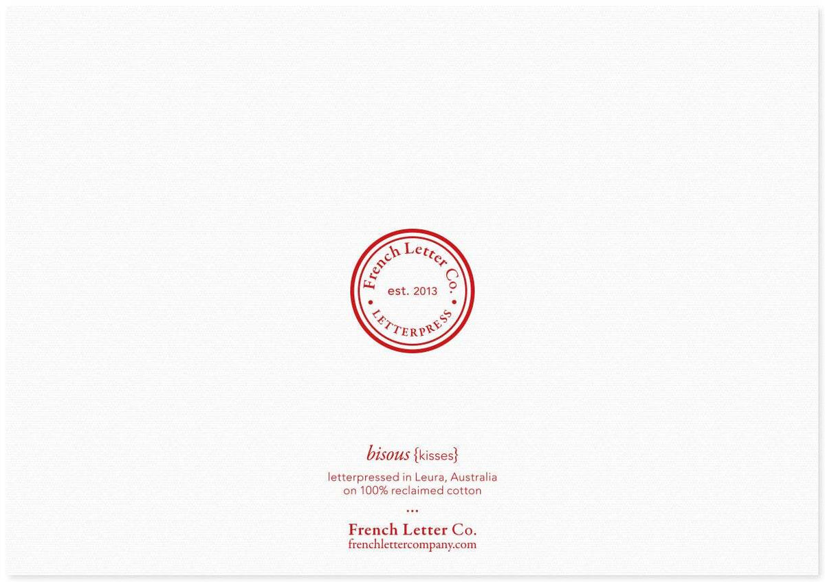 French Letter Co. Gift Card - Kisses