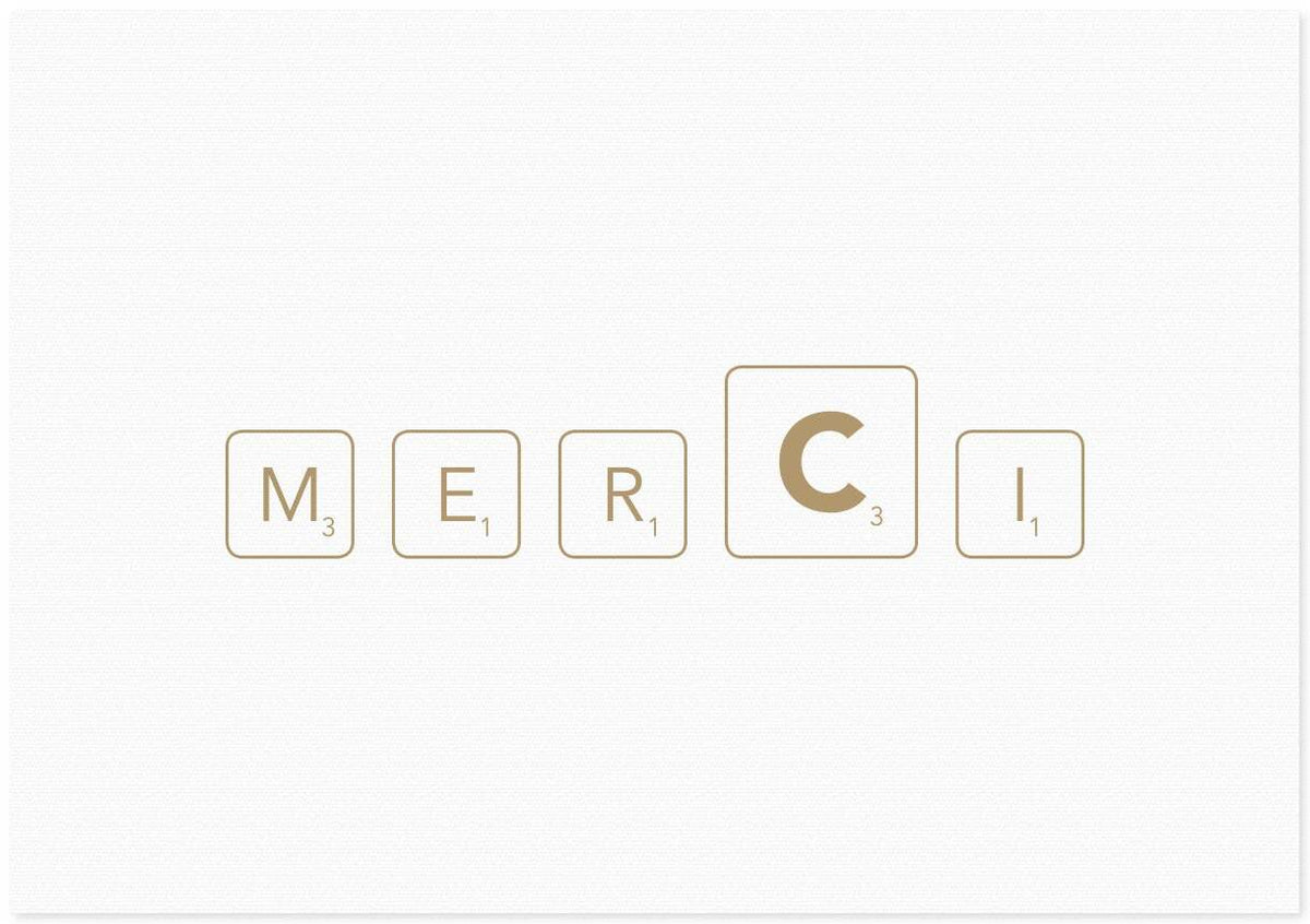 French Letter Co. Gift Card - Merci