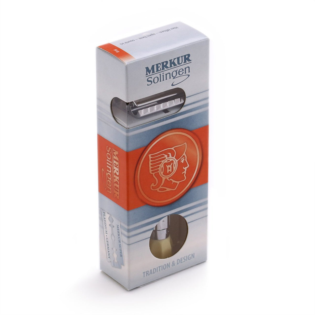 Merkur Progress Safety Razor - Long Handle