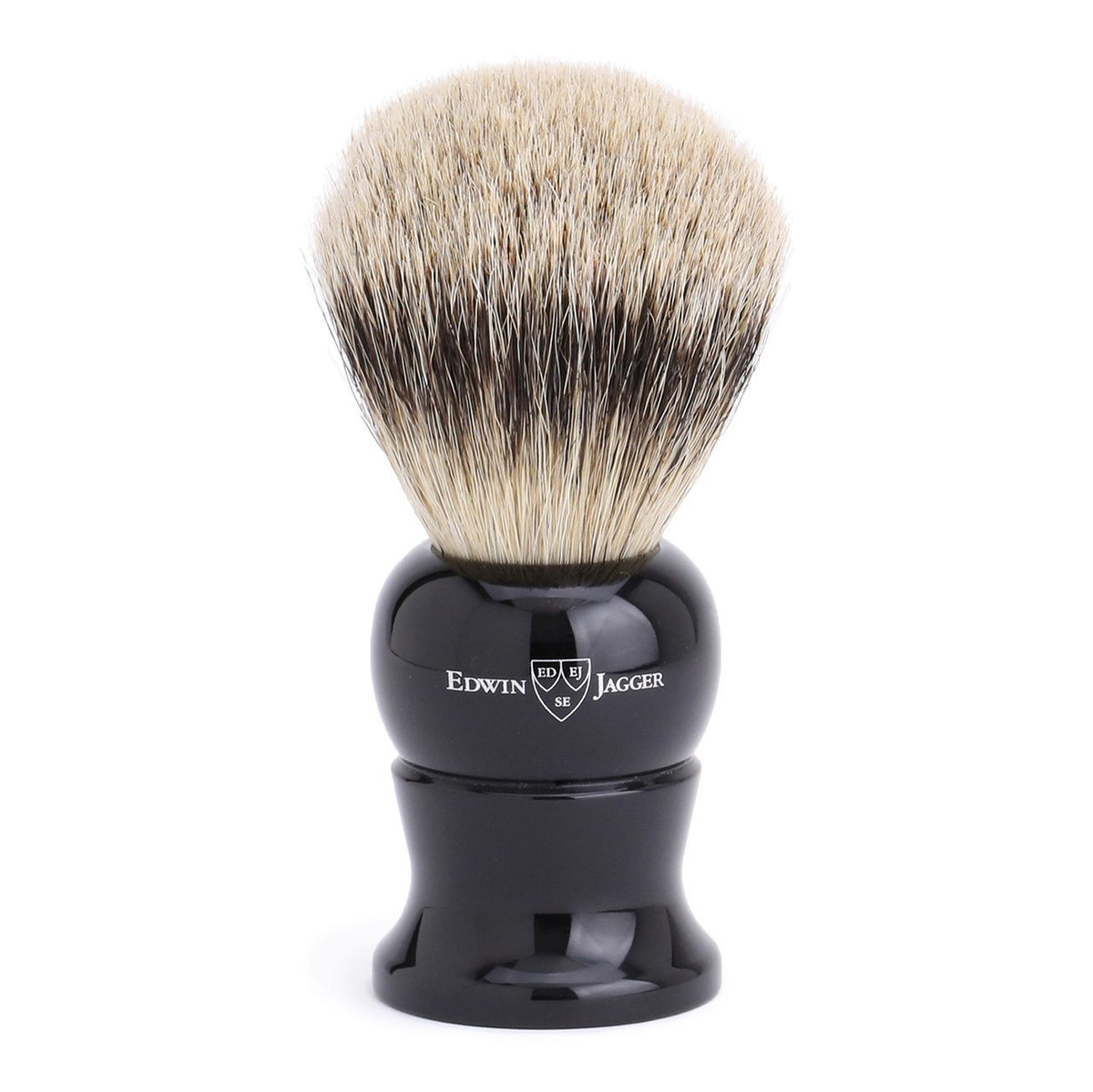 Edwin Jagger Super Badger Extra Large Shaving Brush - Imitation Ebony