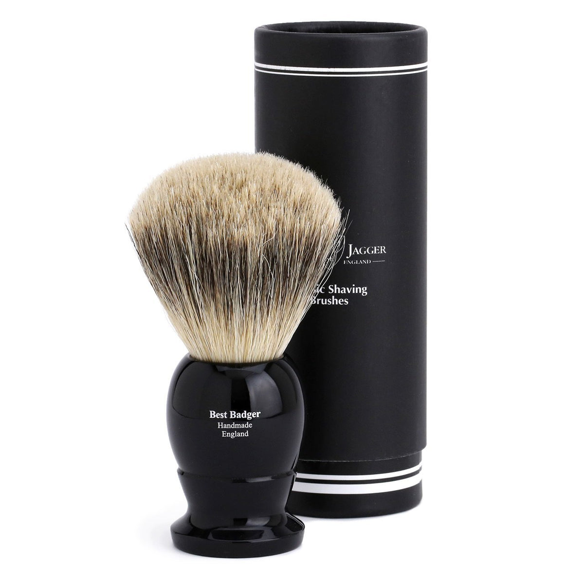 Edwin Jagger Best Badger Extra Large Shaving Brush - Imitation Ebony