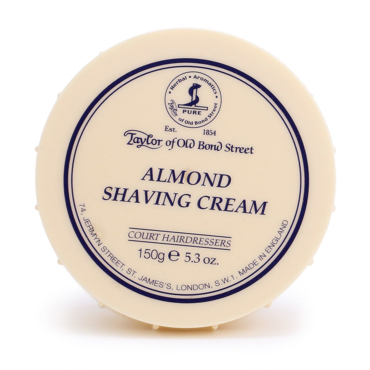 Taylor of Old Bond Street Shaving Cream Bowl 150 g - Almond