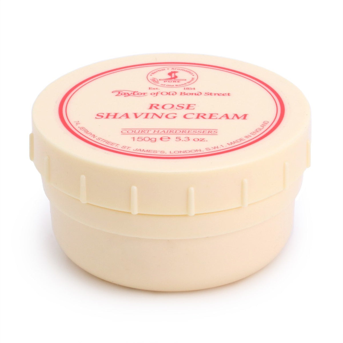 Taylor of Old Bond Street Shaving Cream Bowl 150g - Rose