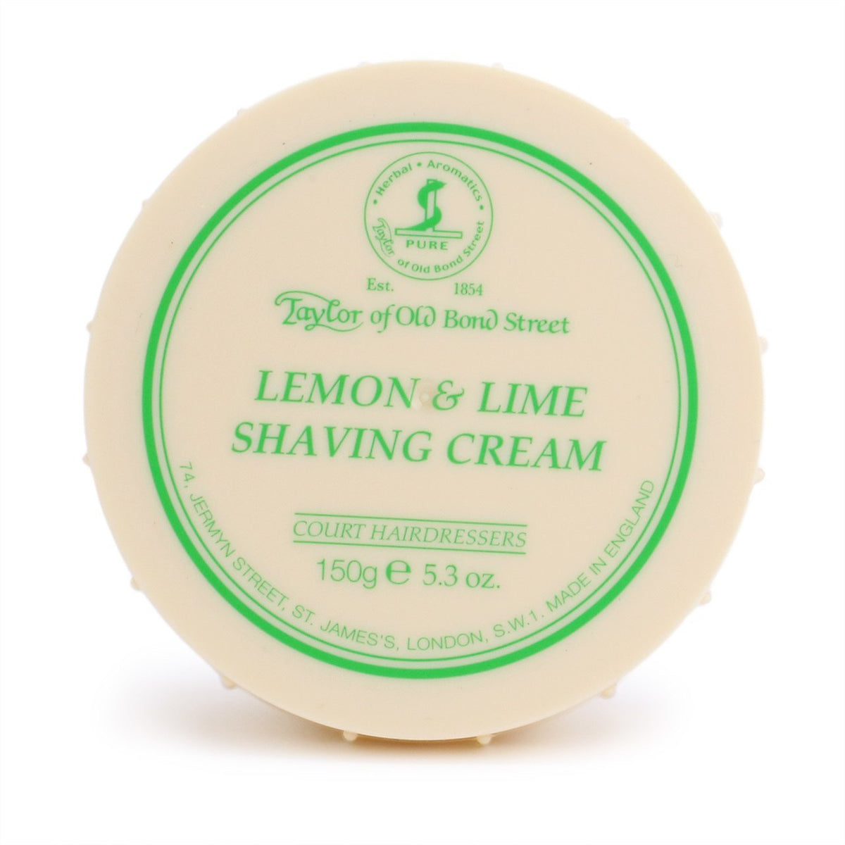 Taylor of Old Bond Street Shaving Cream Bowl 150g - Lemon and Lime