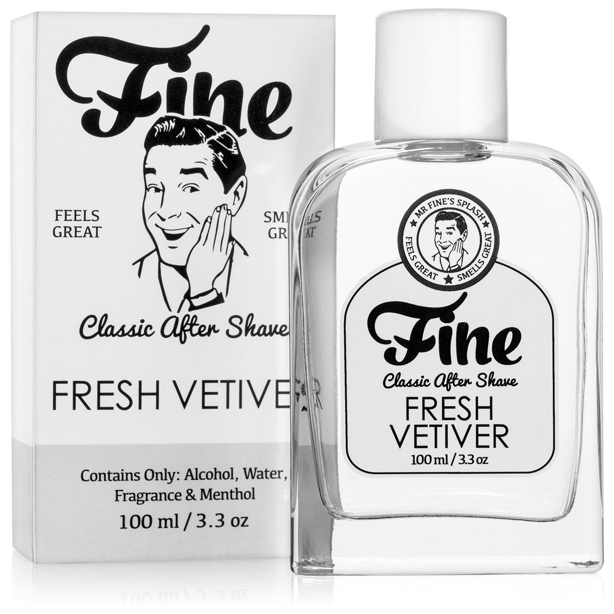 Fine Classic Boxed After Shave - Fresh Vetiver
