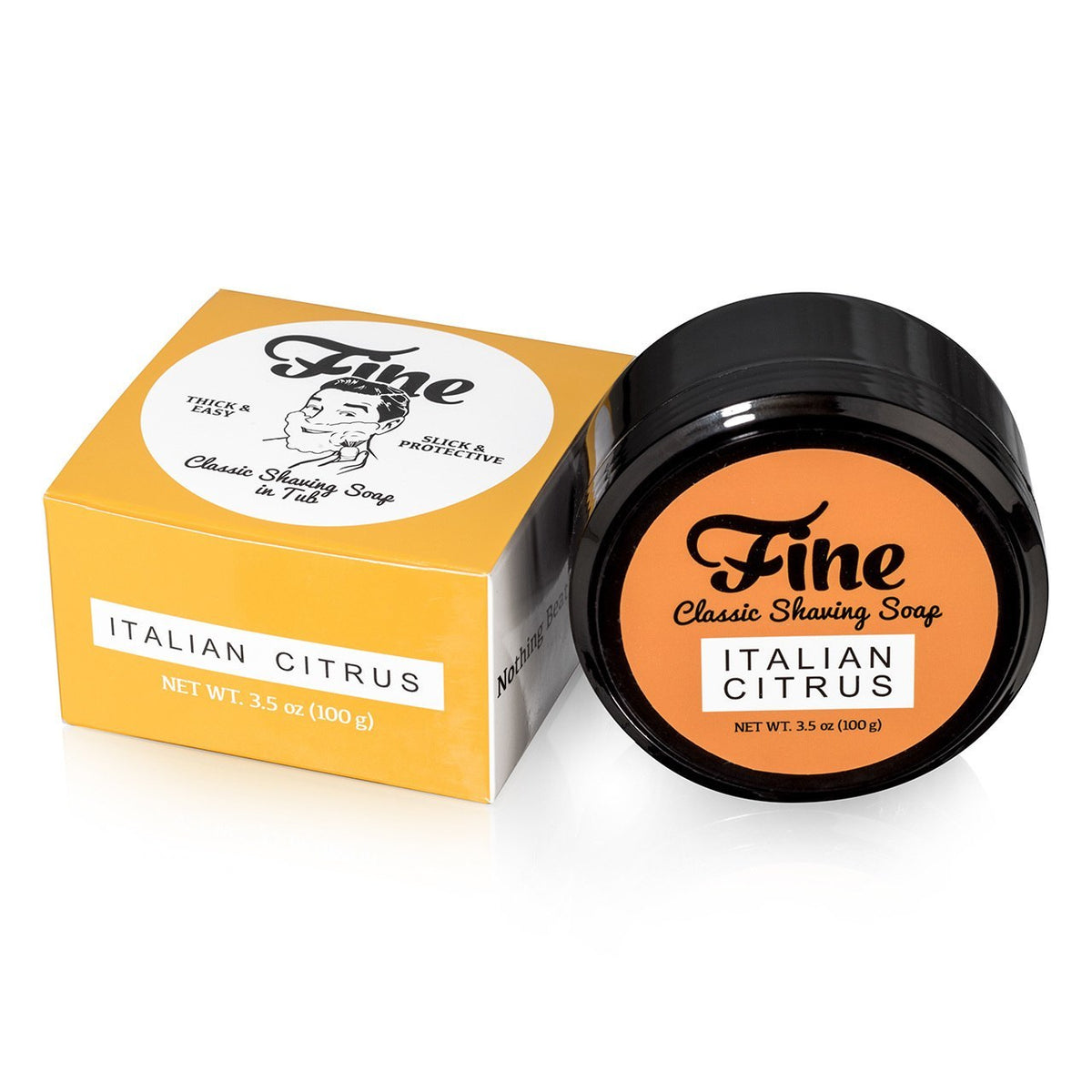 Fine Accoutrements Classic Shaving Soap Tub - Italian Citrus
