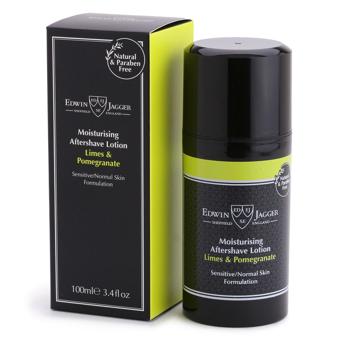 Edwin Jagger Aftershave Lotion - Limes & Pomegranate