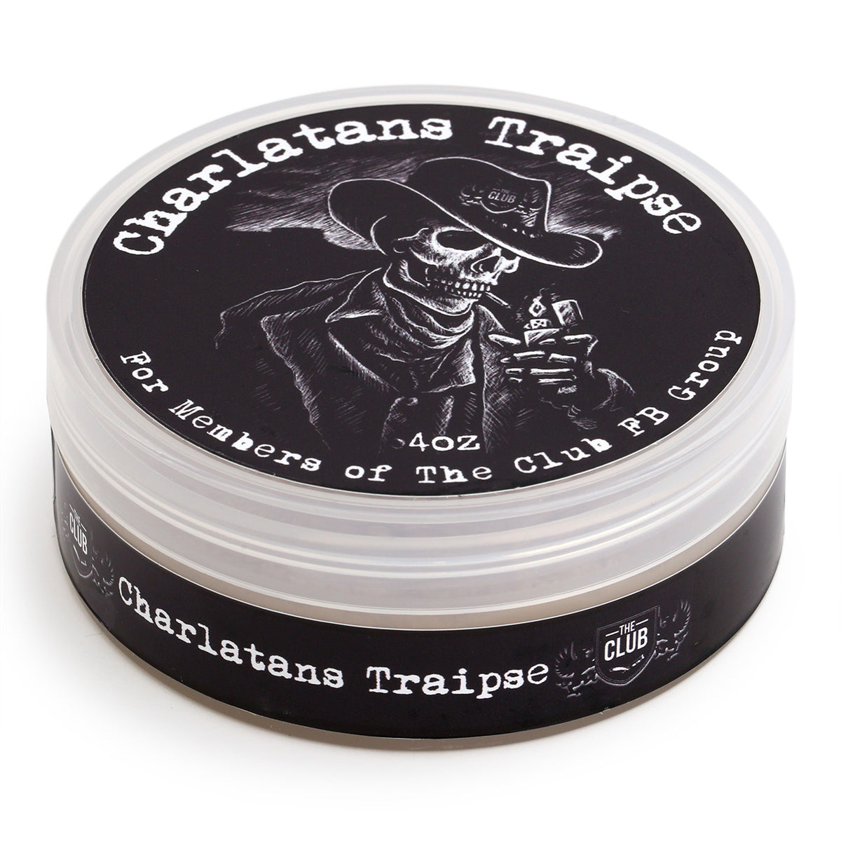 A & E Shave Soap - Charlatan's Traipse, 3/4 view