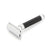 Edwin Jagger Black Chrome 3D Laser Diamond Safety Razor