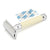 Edwin Jagger DE87 Rubber Coated Ivory Safety Razor