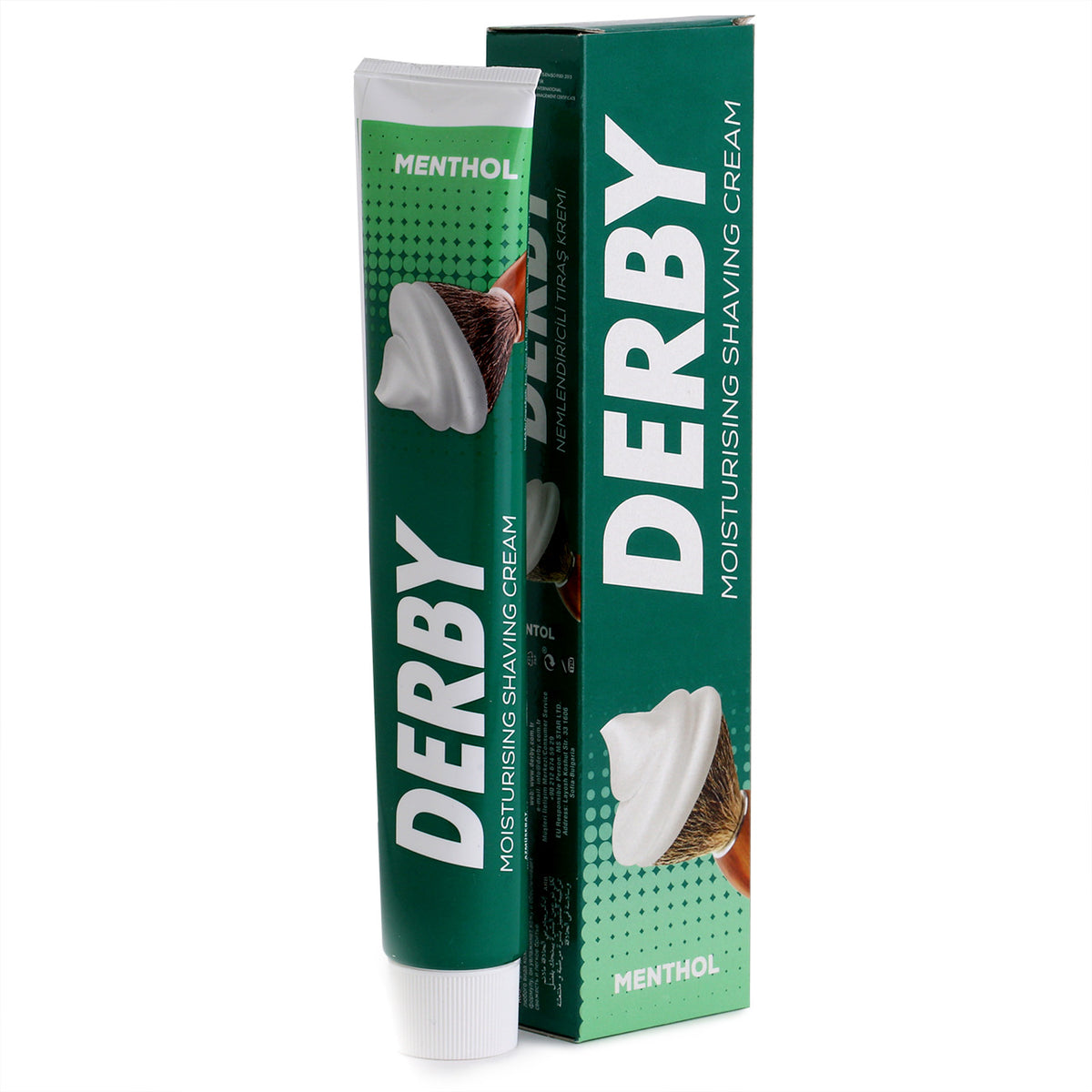 Derby Shaving Cream 100ml, Menthol