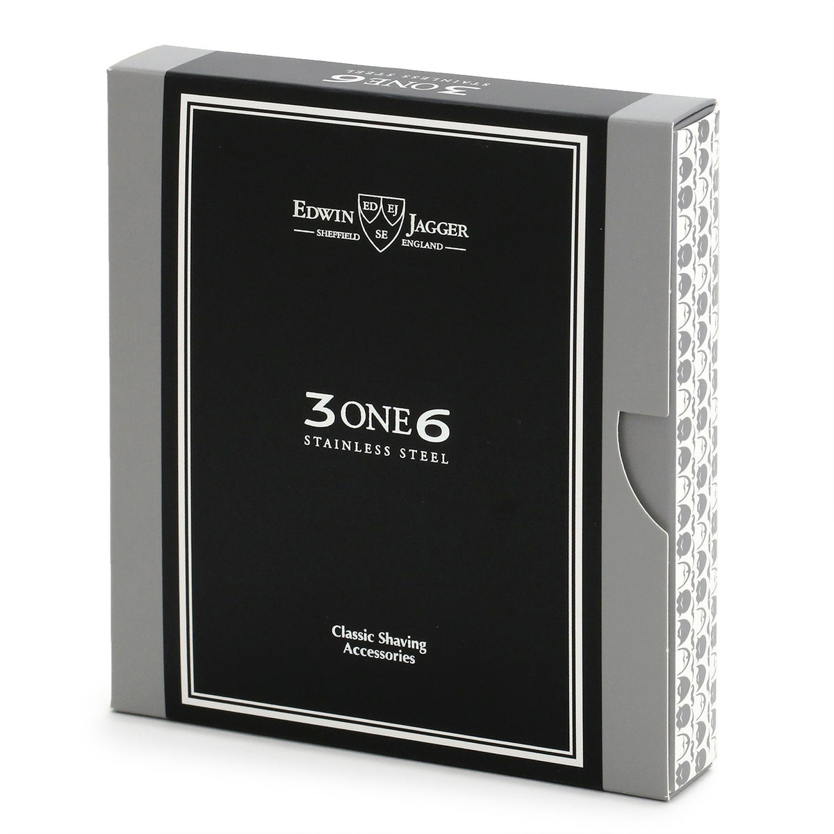 Edwin Jagger 3ONE6 Stainless Steel Safety Razor packaging