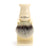Edwin Jagger Imitation Ivory Shaving Brush Synthetic Silver Tip with Drip Stand - Large