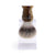 Edwin Jagger Horn Cruelty Free Shaving Brush on drip stand