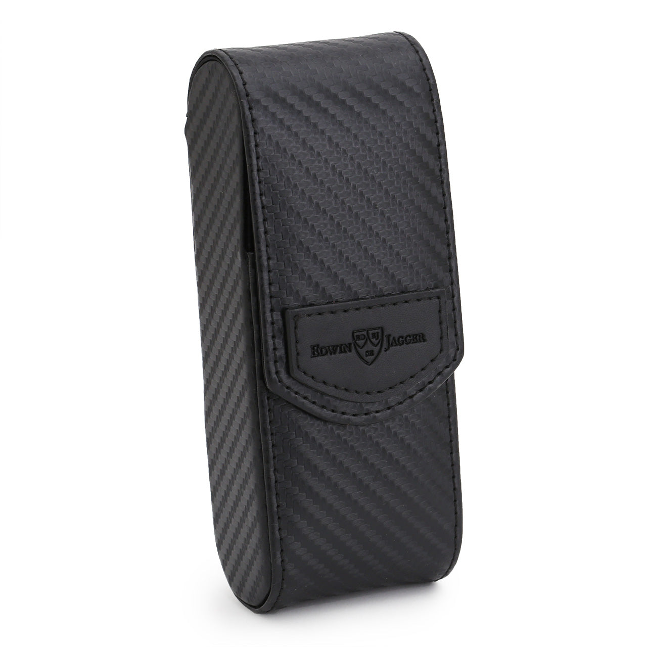 Edwin Jagger long razor case, Carbon Fibre effect