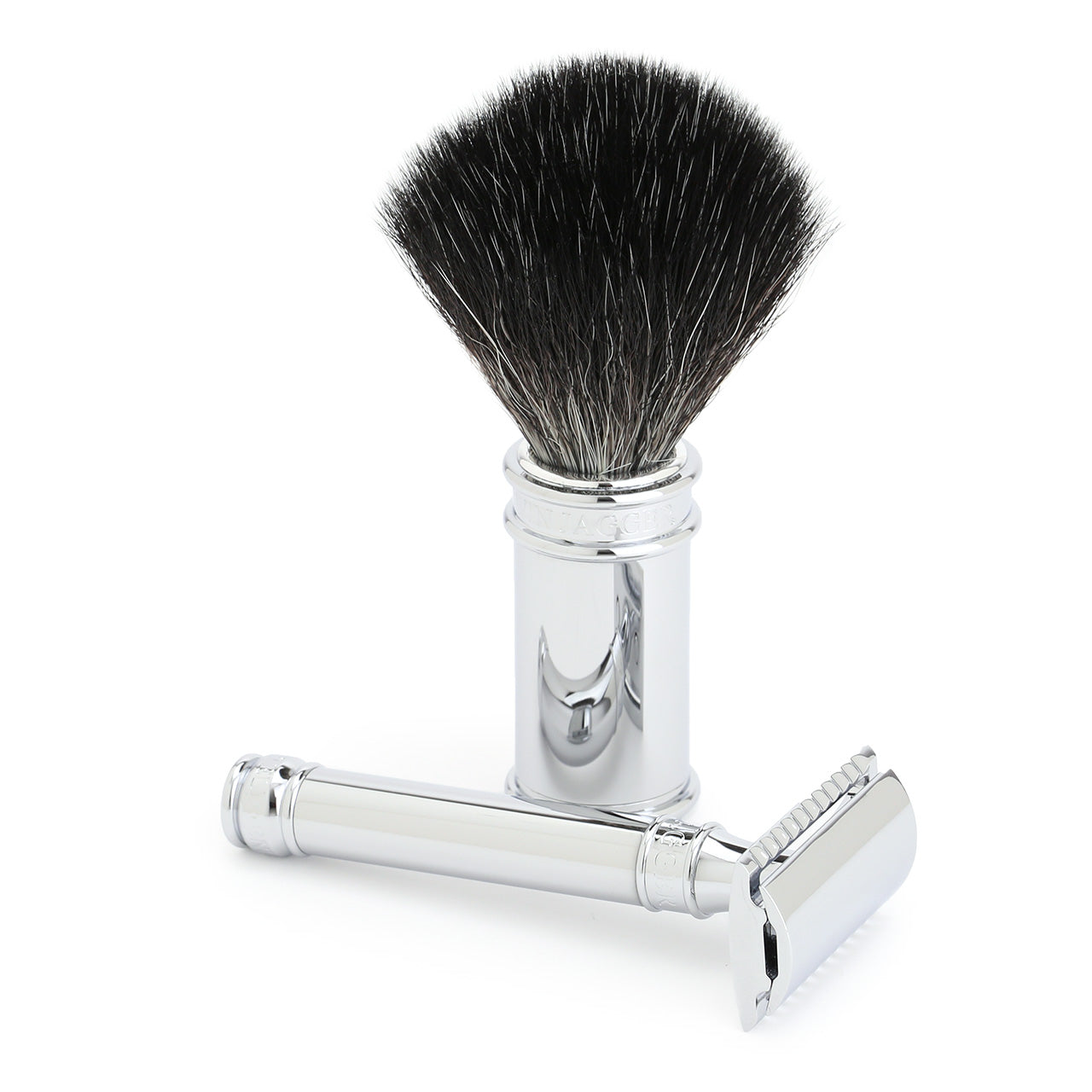 Edwin Jagger 3Piece set, Cruelty-Free brush