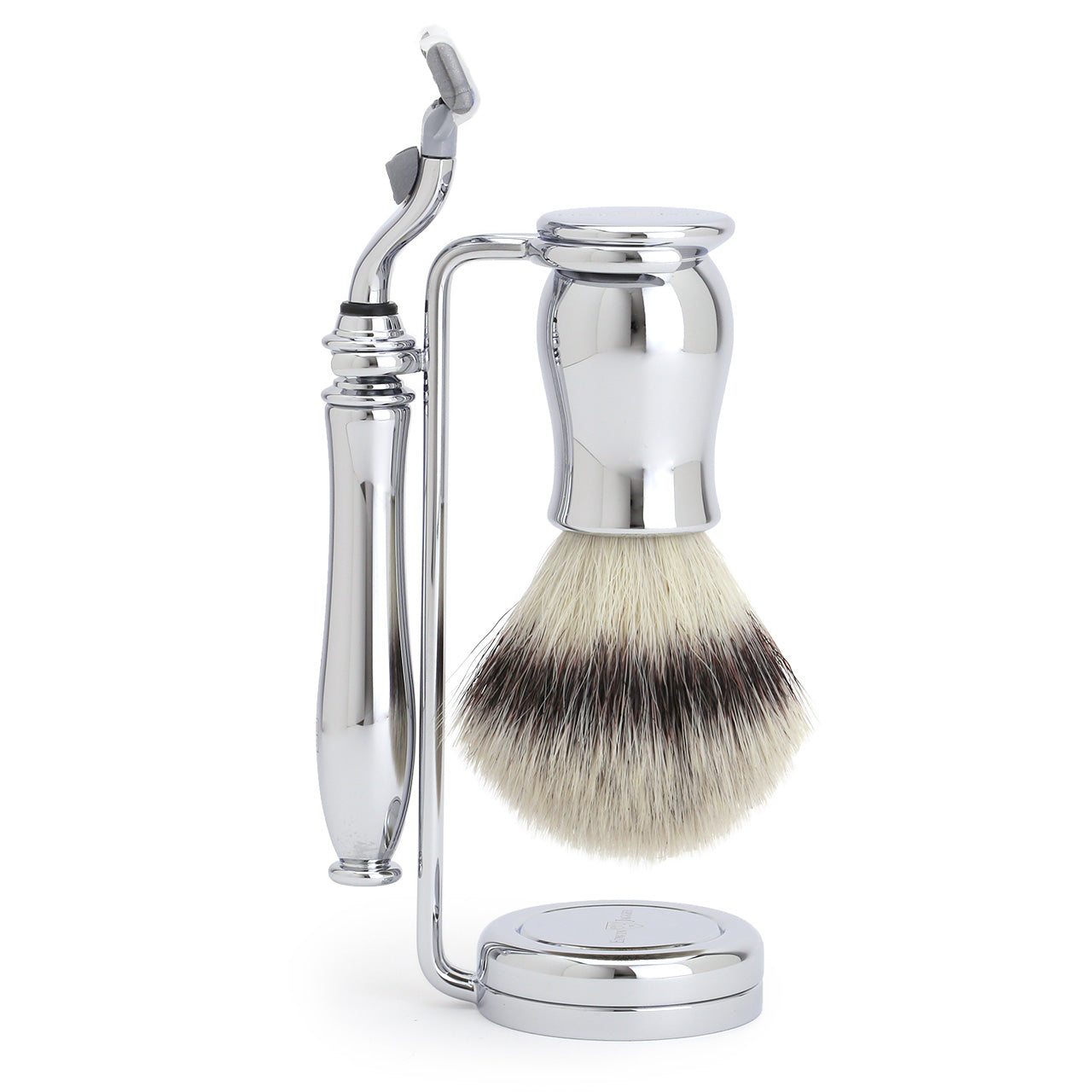 Edwin Jagger Chatsworth Mach3 chrome 3 piece set