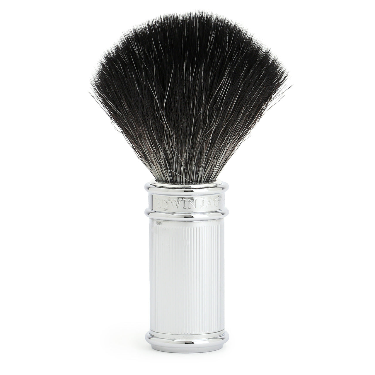 Edwin Jagger Chrome Lined Synthetic Shaving Brush