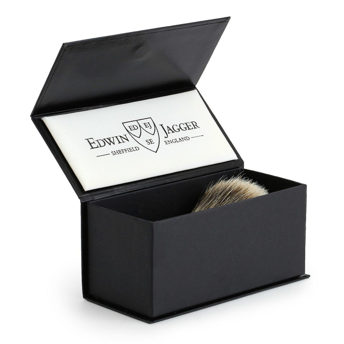 Edwin Jagger Chatsworth Silver Tip Badger Shaving Brush - Ivory
