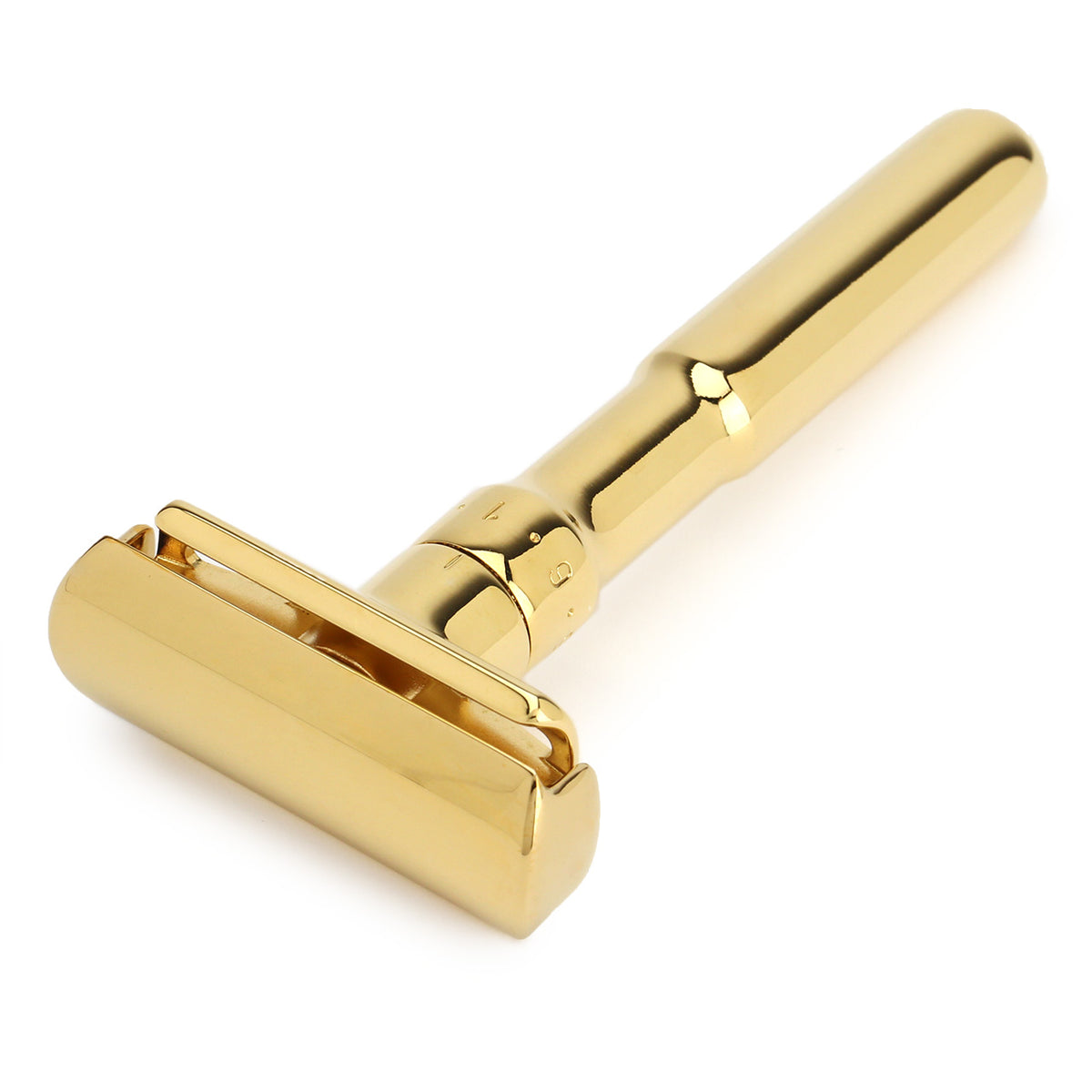 Merkur Futur, polished gold plated adjustable razor