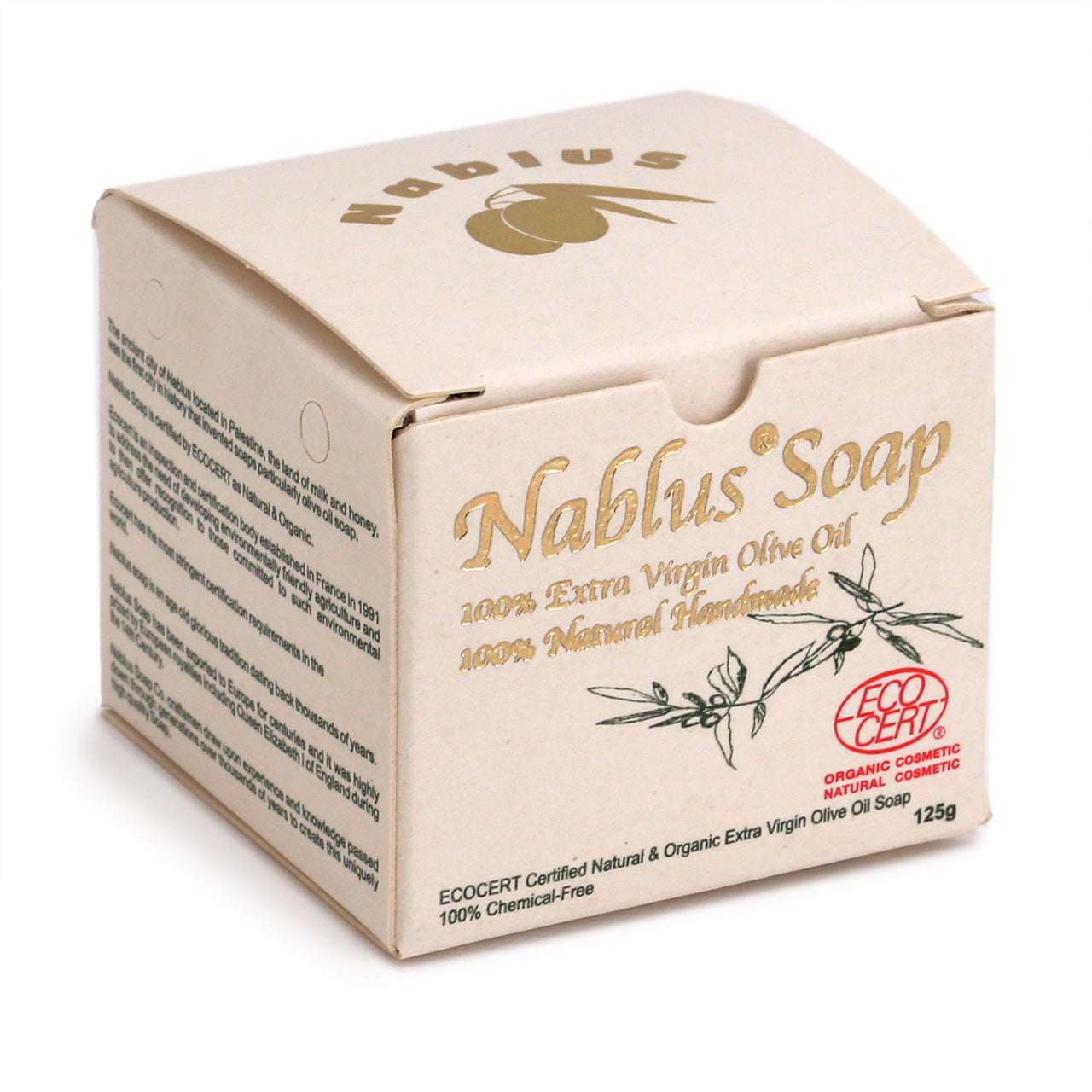 Nablus Natural and Organic Traditional Olive Oil Soap