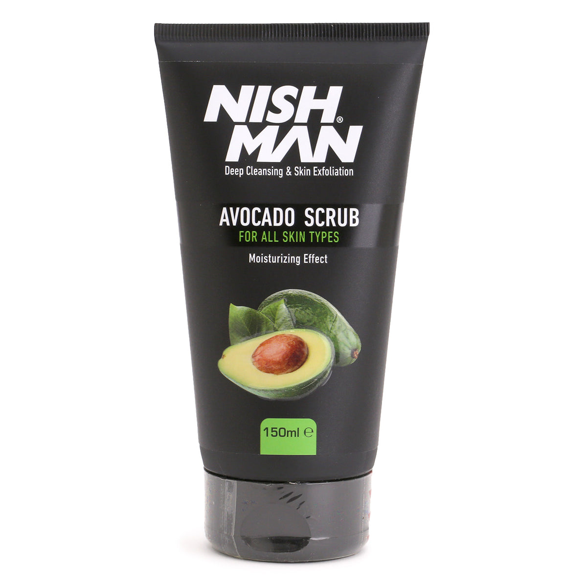 NishMan Avocado Face Scrub tube, 150ml
