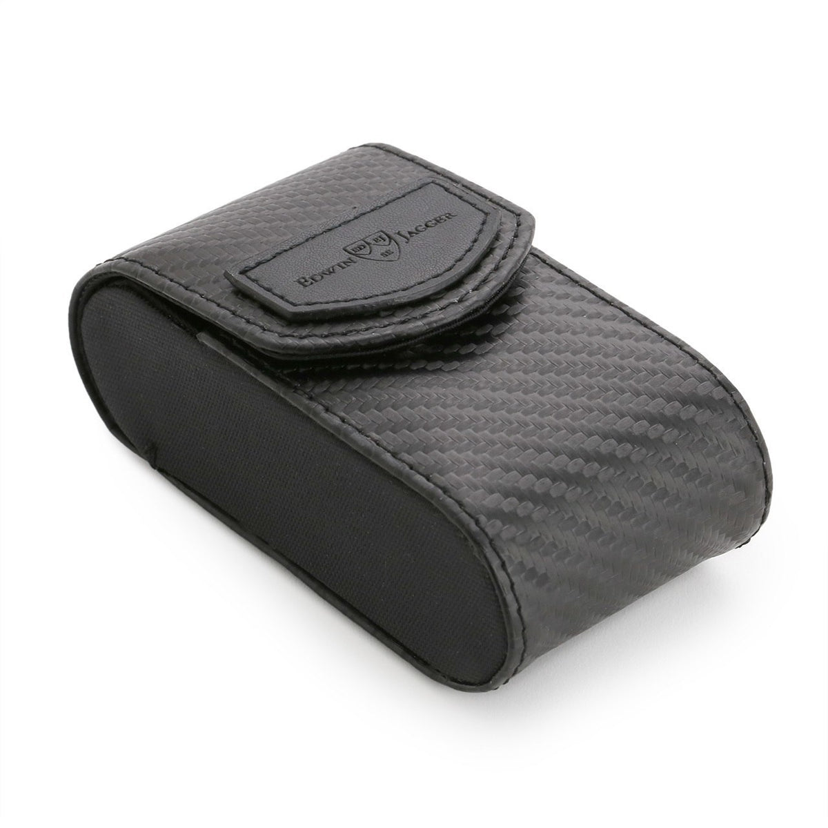 Edwin Jagger DE Safety Razor Case - Black Carbon Fibre Effect