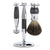 Edwin Jagger 3 Piece Chrome Plated Shaving Set - Grey