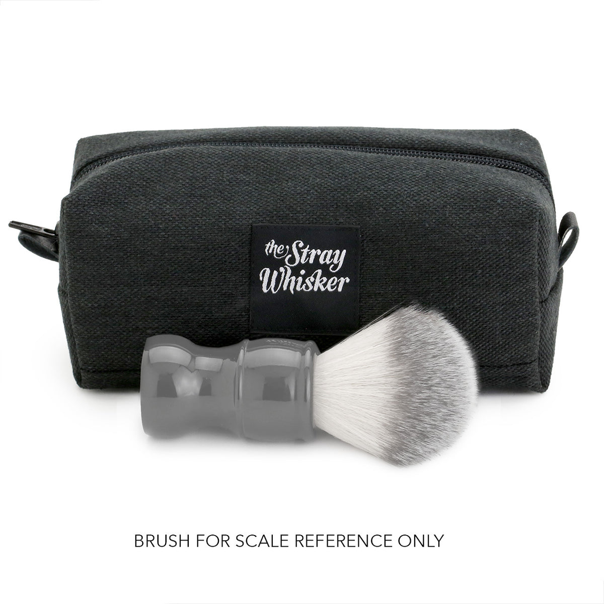 The Stray Whisker Essential Dopp Bag - Charcoal