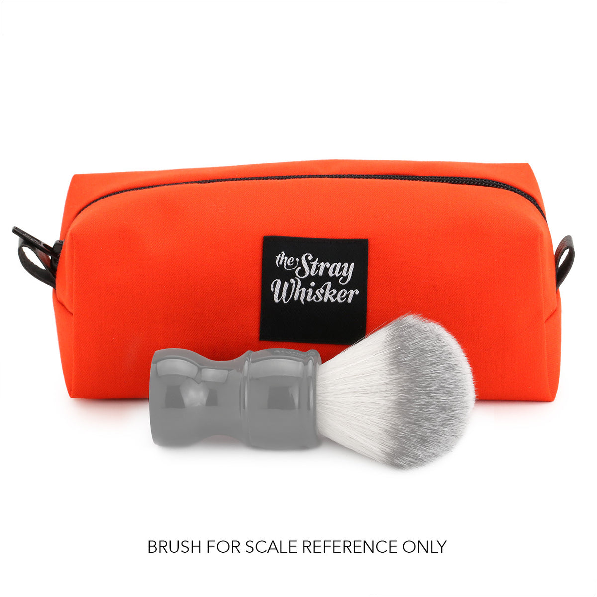 The Stray Whisker Essential Dopp Bag - Orange