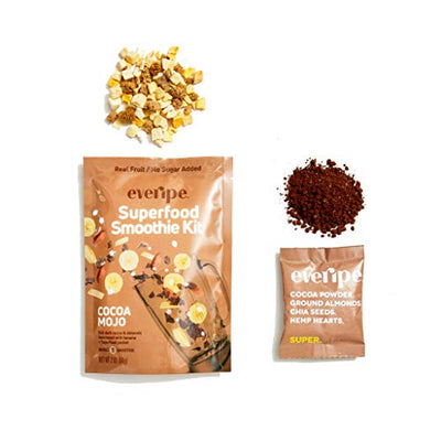 Everipe 3 Pack Cocoa Mojo Smoothie Kit