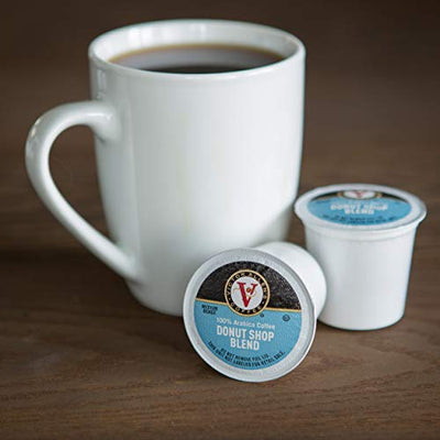 Donut Shop, Morning Blend, 100% Colombian, and French Roast 42 Count Variety Pack K-Cup Pods