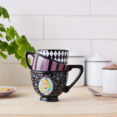 Disney's Alice in Wonderland Multicolor Sculpted Mug