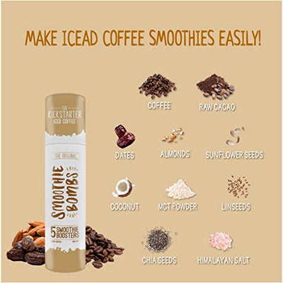 Smoothie Bombs Kickstarter Iced Coffee Smoothie Booster