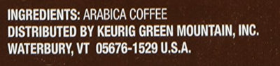 Green Mountain 24 Count Colombia Select Medium Roast Coffee K-Cups