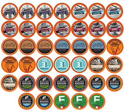 TWO RIVERS COFFEE 40 Count Medium Roast Coffee Pods