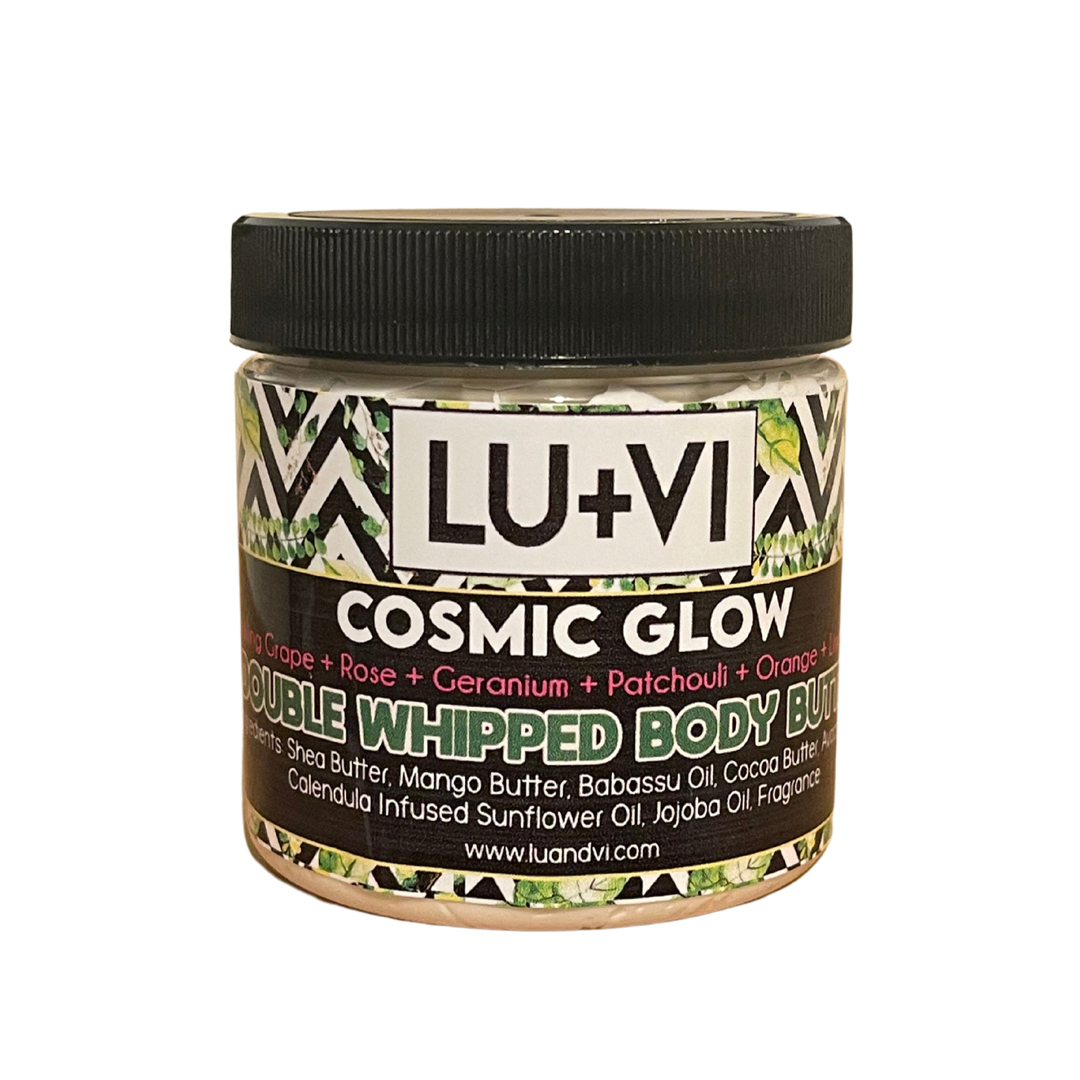 Cosmic Glow (Sparkling Grape, Rose, Geranium, Patchouli, Orange, Lime)