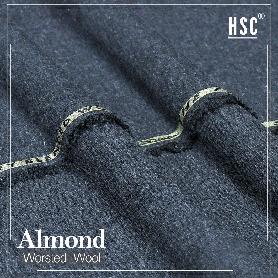 Almond Worsted Wool For Men - AWW4